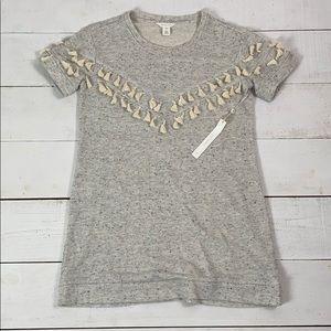 Caslon Grey Tassel Dress/Tunic